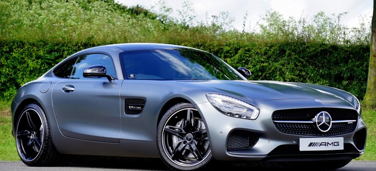 Last One Touching Mercedes Benz Wins Car During Super Bowl