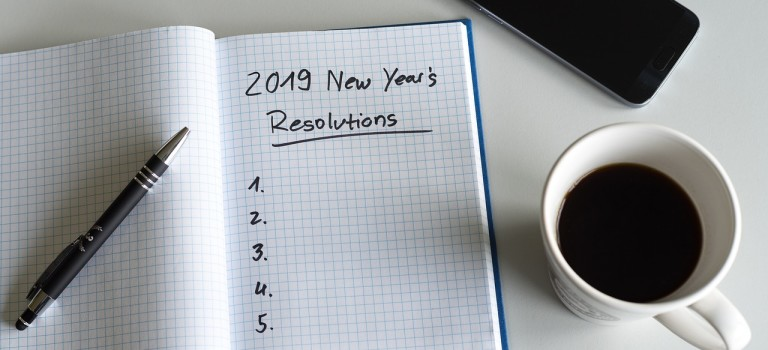 My Personal 2019 New Year's Resolutions!